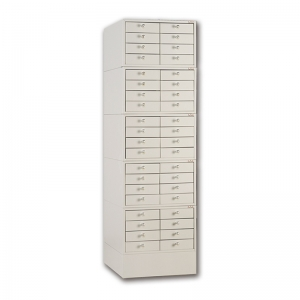 J-E2-3 small eight drawer wax block cabinet