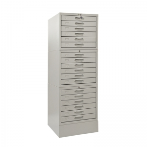 J-E2-2 wax block cabinet with lock